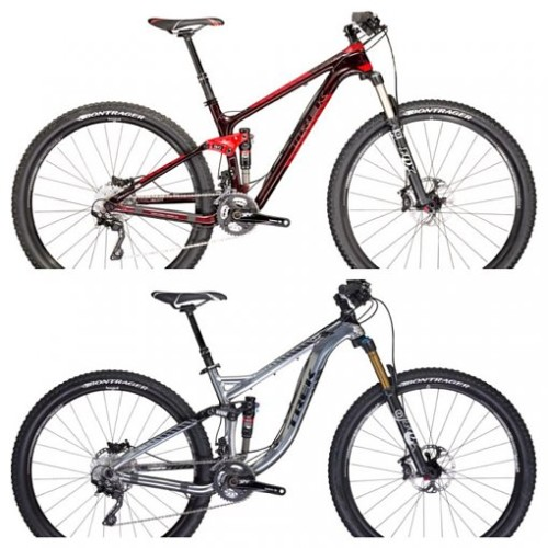 Typically Trek and other bike manufacturers make a huge deal out of a