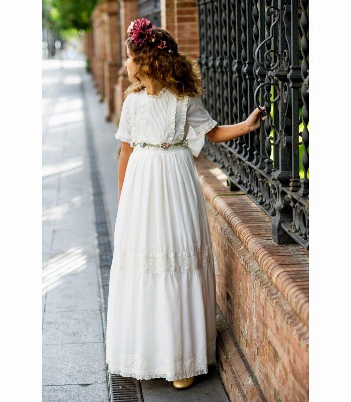 Patrones vestidos comunion