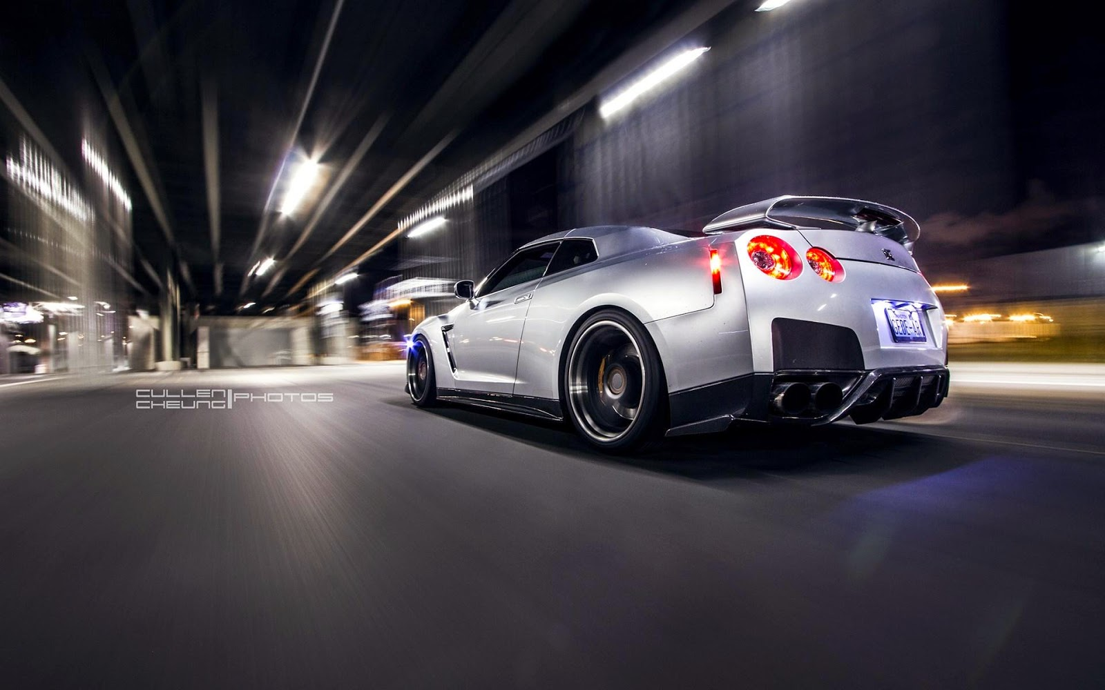 wallpaper photography : hd night nissan gt-r r35 car wallpapers