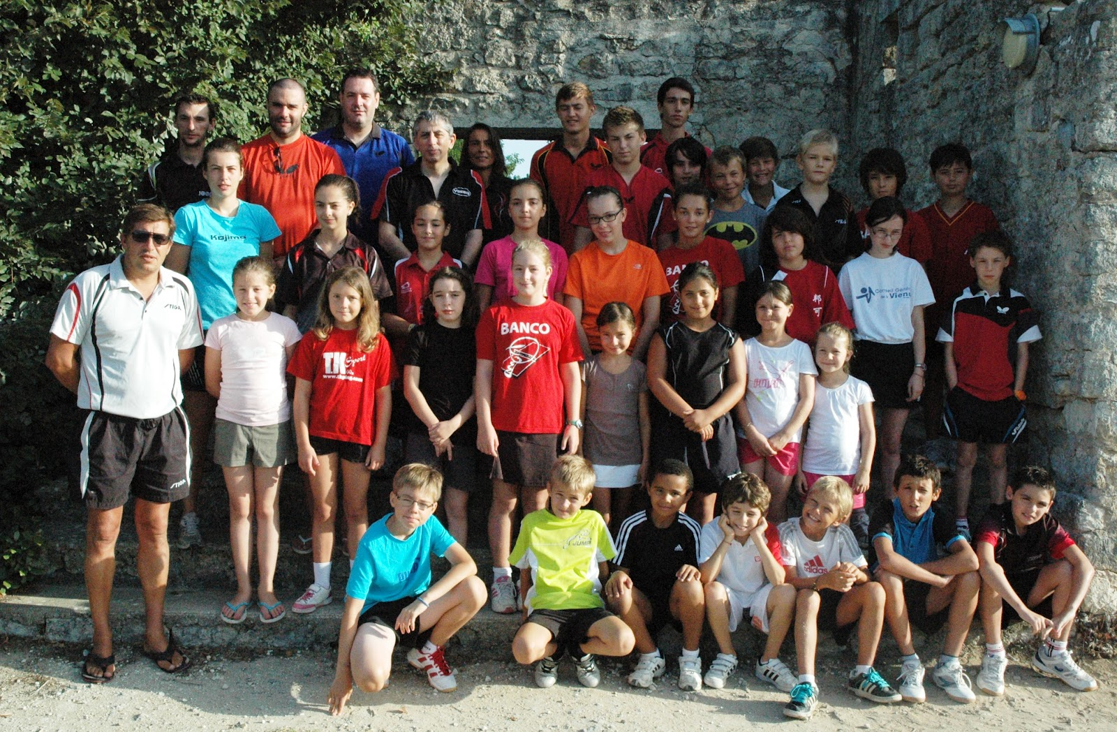 Commission technique tt poitou charentes stages r gionaux - Ligue poitou charente tennis de table ...