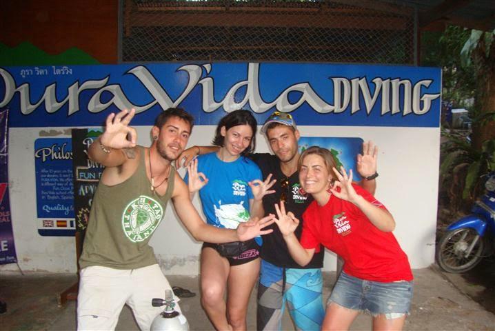 cursos de buceo en Koh Tao Tailandia