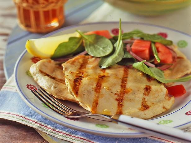 Bobby Flay Recipes: Grilled Chicken Paillard with Lemon ...