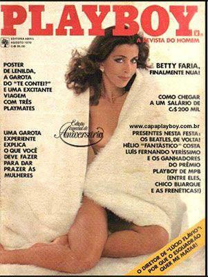 Confira as fotos de Betty Faria, capa da Playboy especial de 3º aniversário, agosto de 1978!