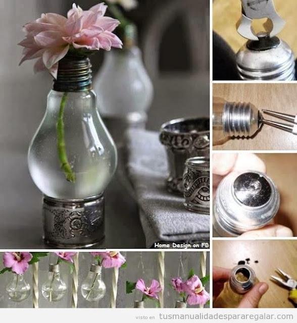 Tip jarrones y centros de mesa handmade