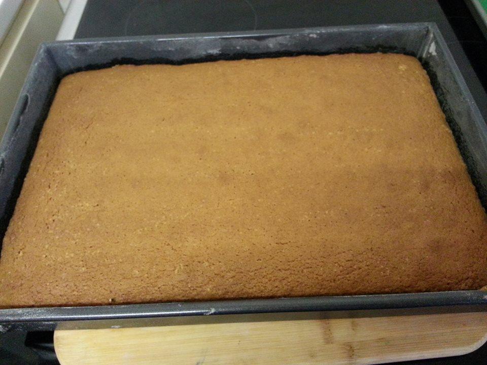 Sheet cake Slab
