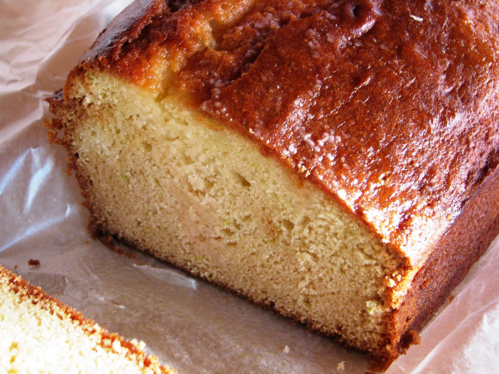 ... Into Your Day With Fresh Lime Pound Cake | Crazy Englishwoman Cooks