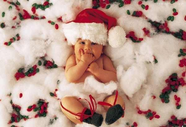 Pic funny pictures cute christmas baby picture cute for Pretty christmas pics