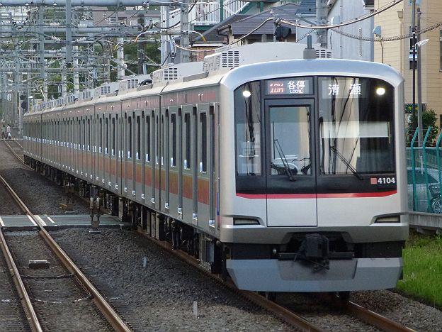 東京メトロ有楽町線・副都心線 西武線直通 各停 清瀬行き4 東急5050系
