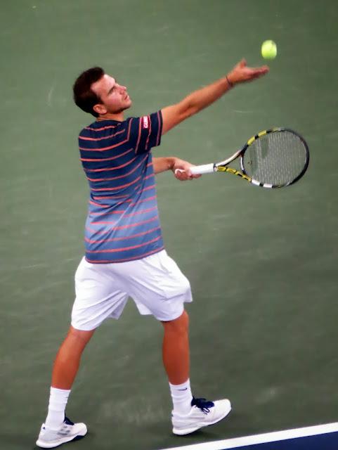Adrian Mannarino 2013 US Open