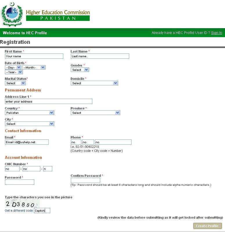 Hec Degree Attestation Services For Students In Pakistan 2011 To