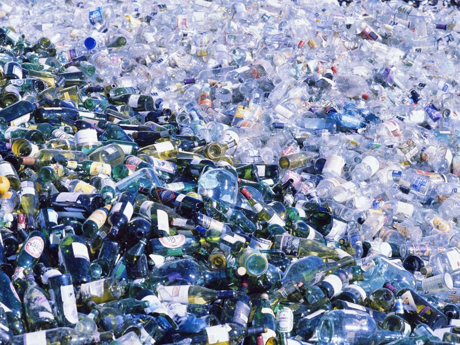 Ma poubelle est un jardin comment couper en deux une - Comment couper une bouteille en verre ...