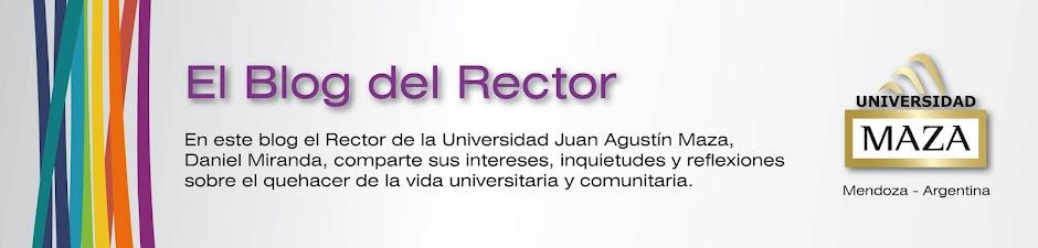 El Blog del Rector - UMaza