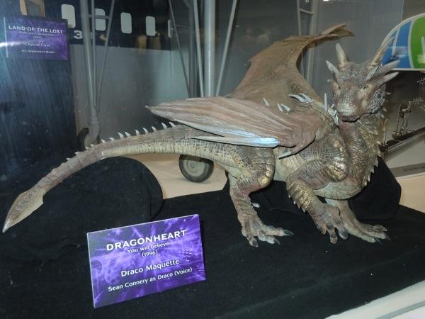 Draco maquette Dragonheart