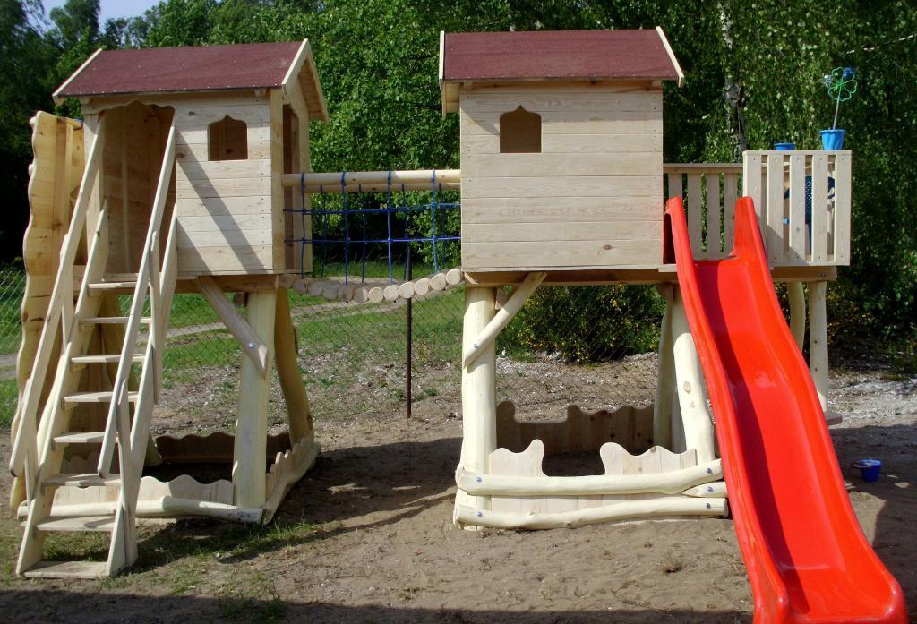 Play centre, climbing frame