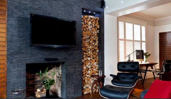 Fotos de chimeneas instalaciones estufas a le a - Como instalar una chimenea de lena ...