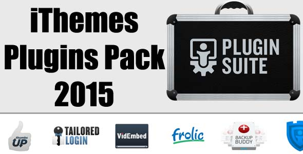 Free Download IThemes Plugins Pack 2015 For Wordpress