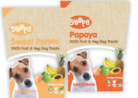 Soopa Pets Papaya and Sweet Potato Dog Treats