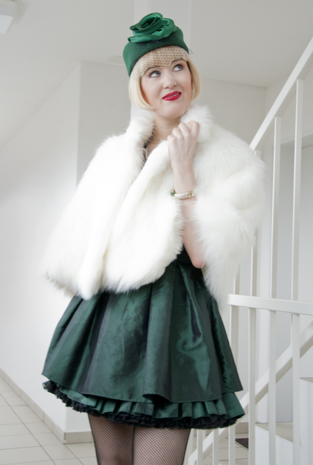 fake fur, retro, fifties, hat