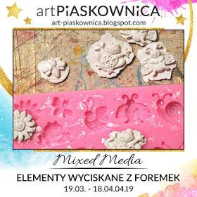 Art-piaskownica-Mixed Media_masas prensadas en moldes