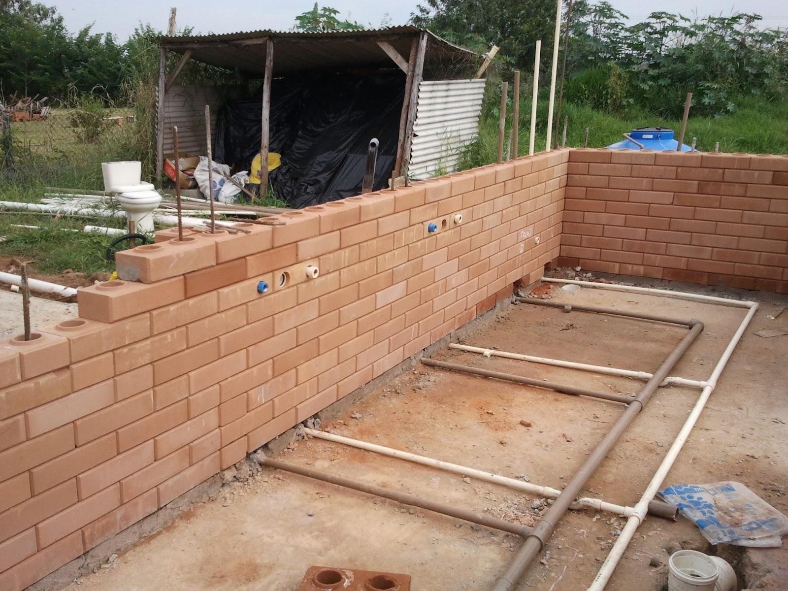 Construindo e Ampliando com Tijolo Solo cimento / Ecológico: Junho  #8D5E3E 1600 1200