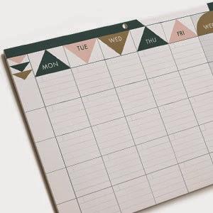 Ma Bicyclette - Buy Handmade - Calendars & Diaries - Minimalist Planner