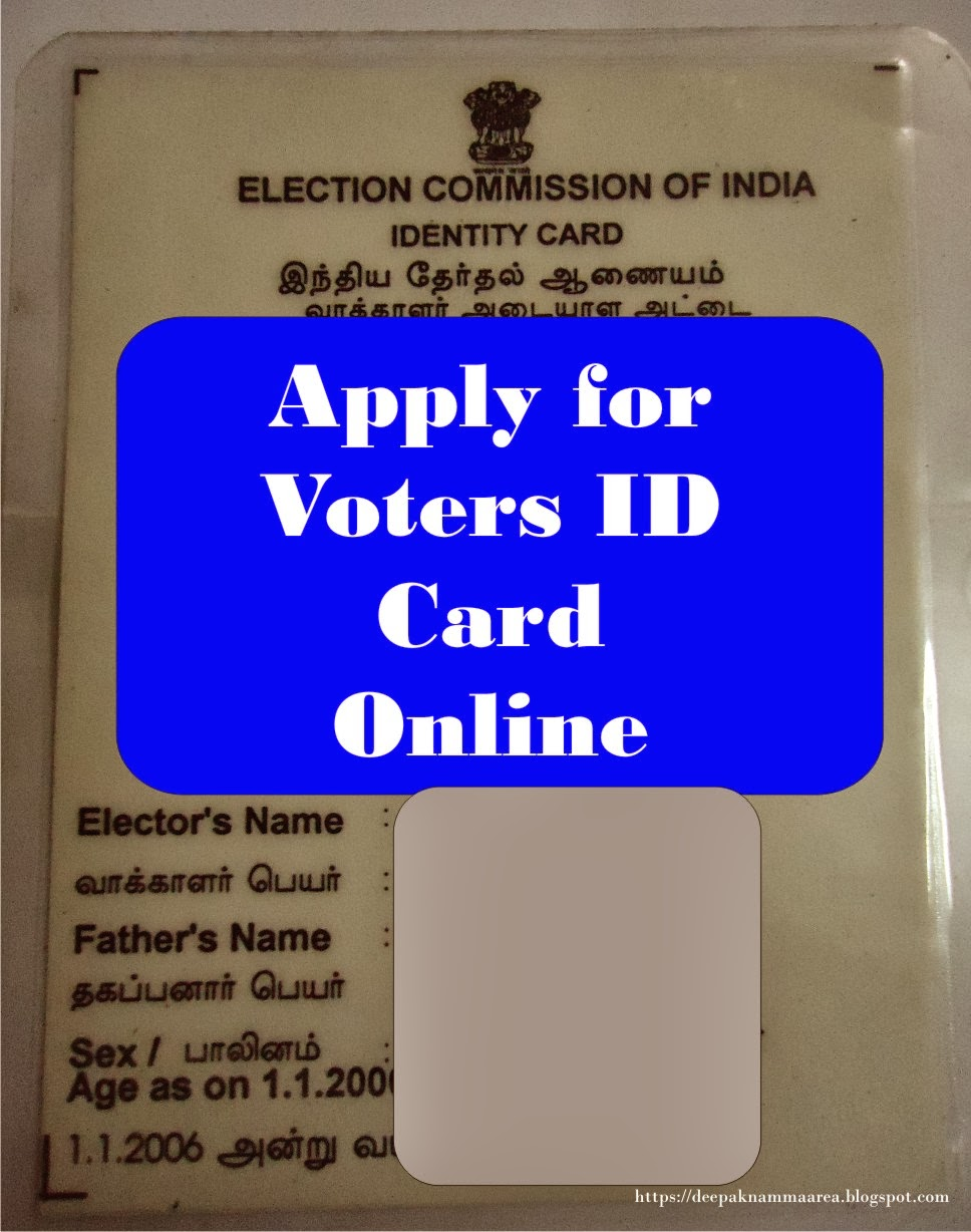 Online color voter id - Apply For Voters Id Card Online