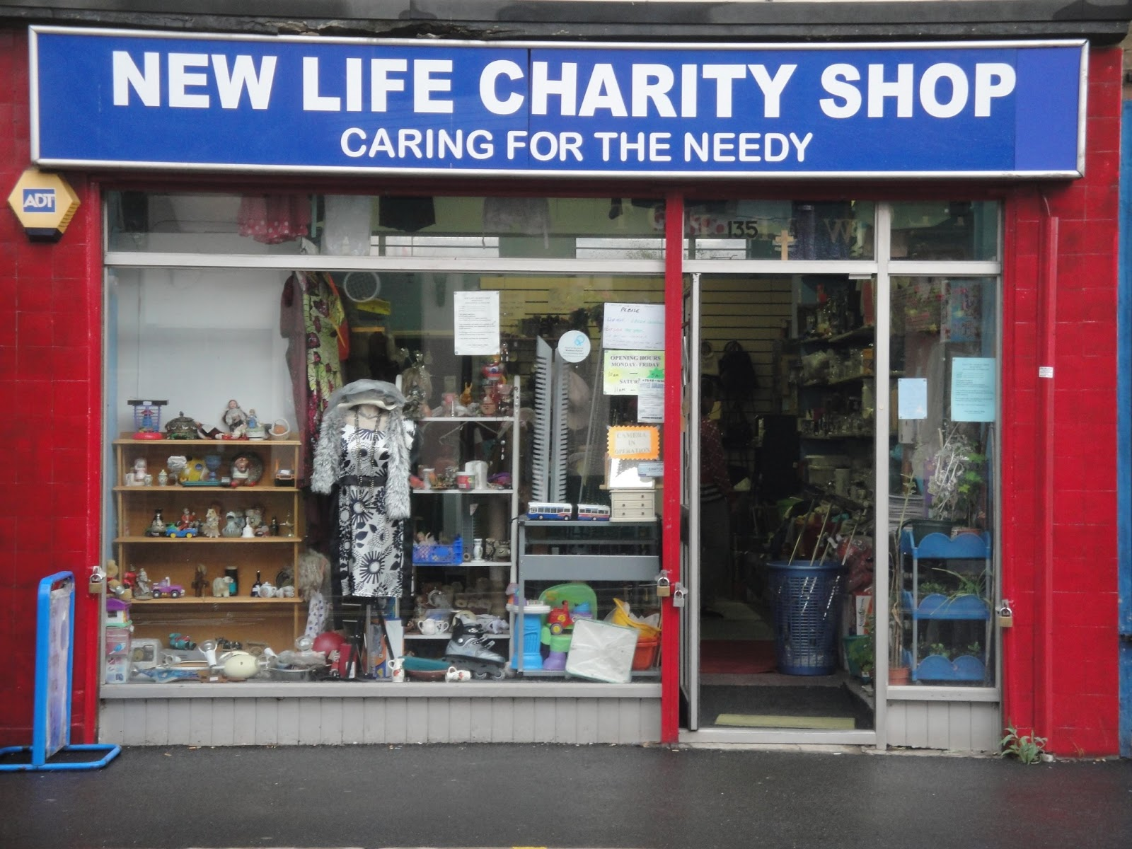 WOOD STREET INSIDE OUT NEW LIFE CHARITY SHOP BEFORE AND AFTER