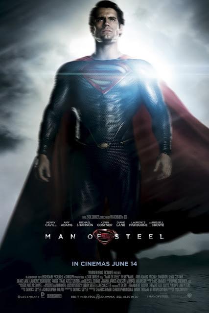 Man of Steel KAL-EL Henry Cavill Poster