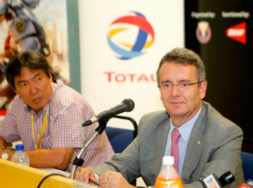 Parnership between Total Oil Malaysia and Badminton World Federation(BWF)