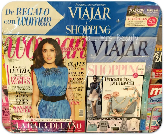 Regalos revistas junio 2015: Woman