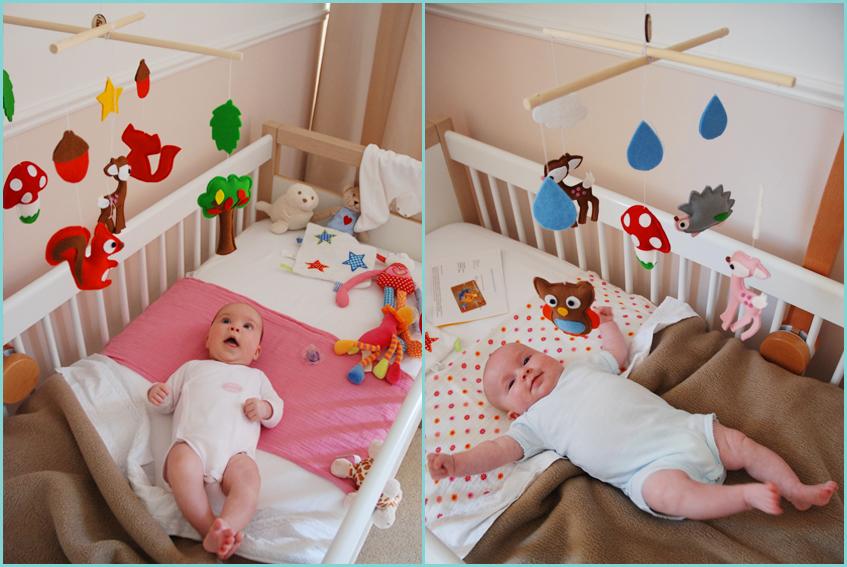 Babykamer Tweeling Ideeen : Wil je ook zon vrolijke dieren mobile van ...