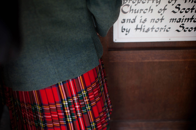 {Lillian and Leonard Wedding Photography} tweed and kilt