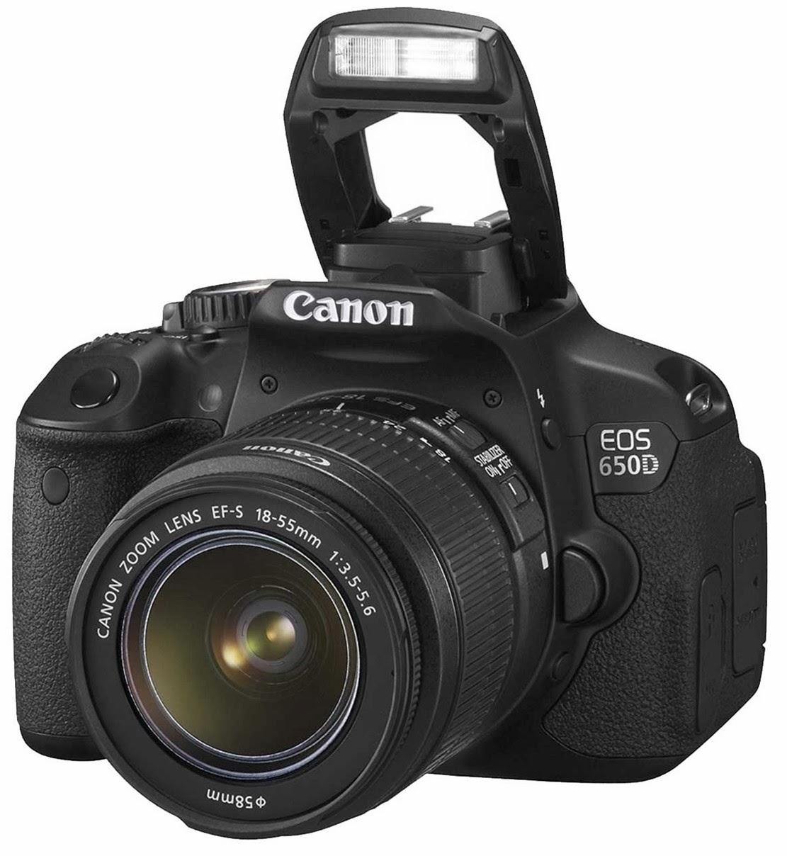 CANON EOS-650D DSLR FOTOĞRAF MAKİNESİ