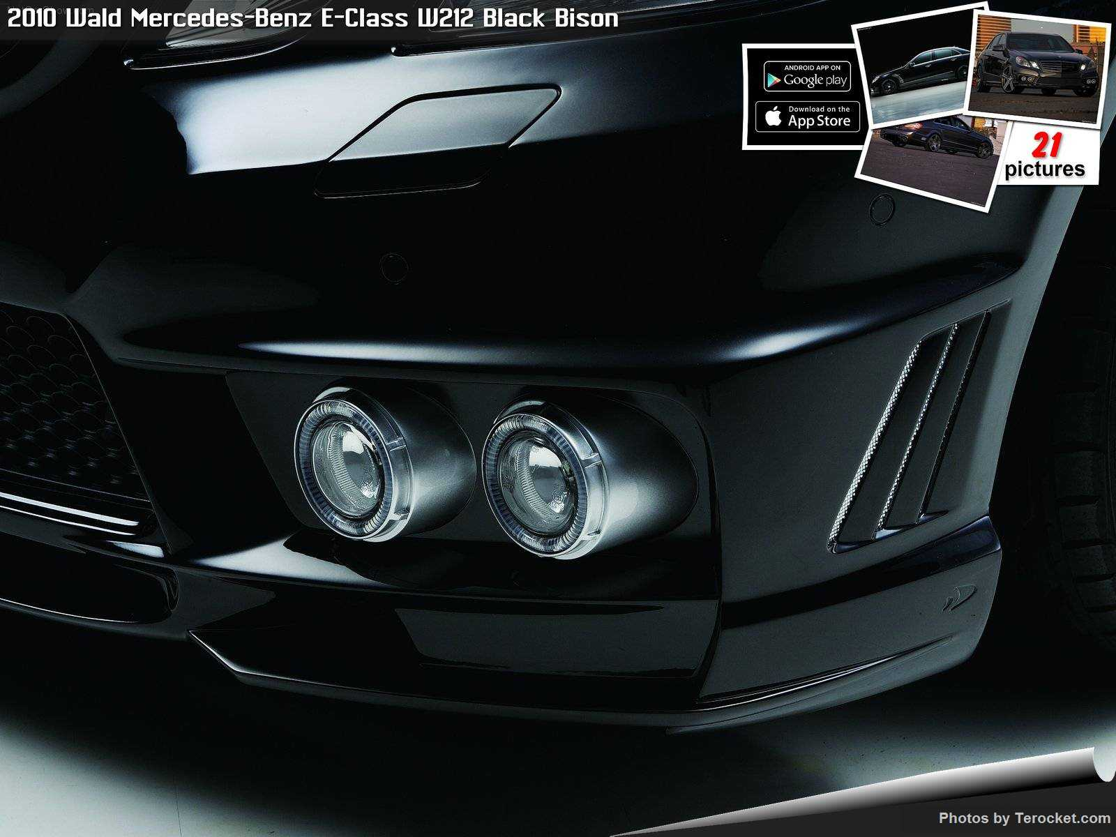 Hình ảnh xe độ Wald Mercedes-Benz E-Class W212 Black Bison 2010 & nội ngoại thất