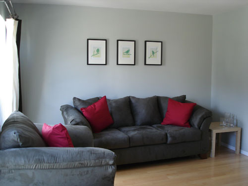 town house living room