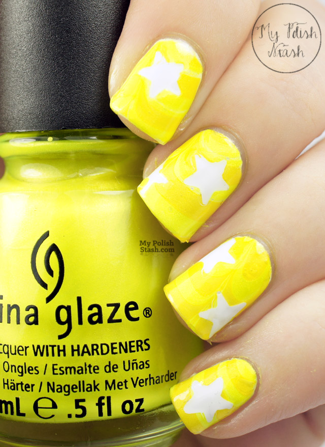 sally hansen lemon zest China glaze sunkissed
