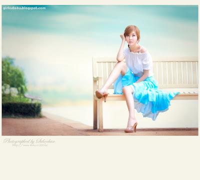 2 Choi Byeol Yee-Legs Show Off-very cute asian girl-girlcute4u.blogspot.com
