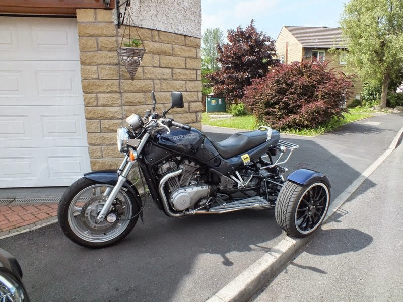 Suzuki VX800 Modif Tiga Roda