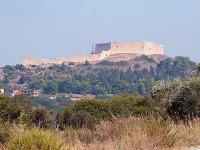 medieval castle Chlemoutsi Peleponnese