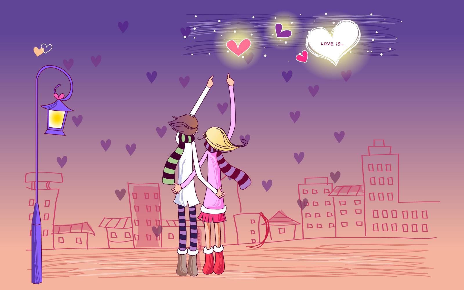 kartun romantis