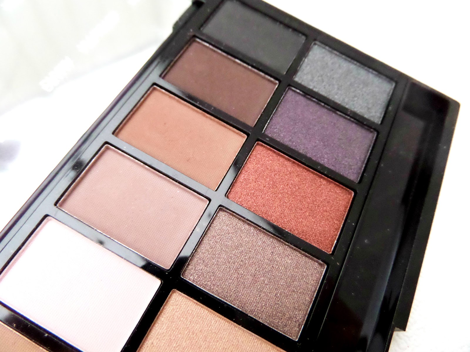 Makeup Revolution Iconic Pro 1 Palette Shades and Colours