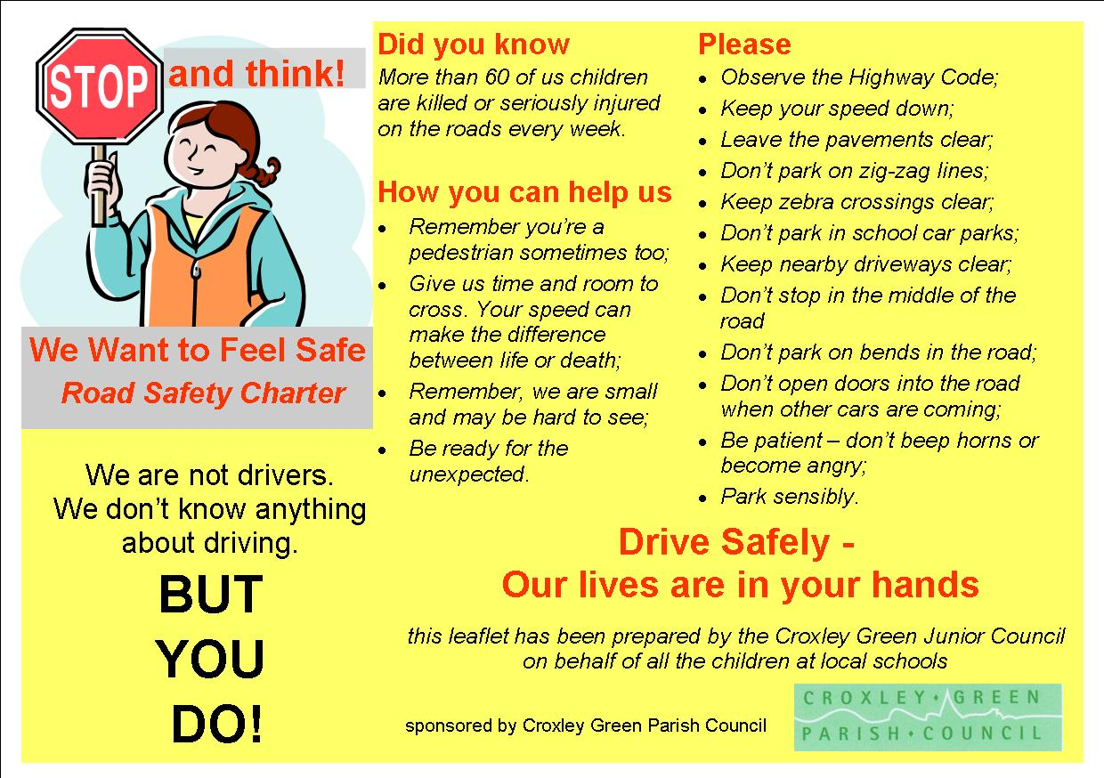 Essay on help road safety pdf