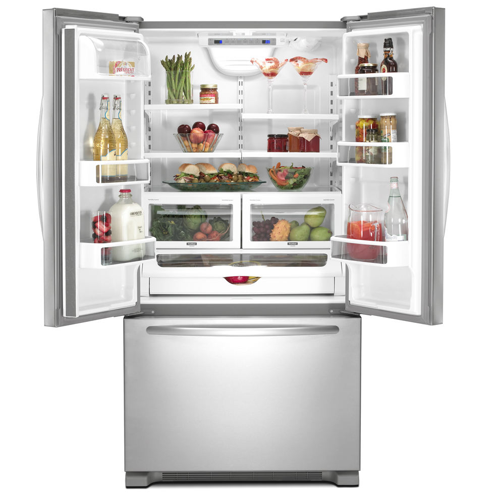 Refrigerators Parts: French Door Bottom Freezer Refrigerator