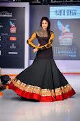 Lavanya Tripathi Glamorous Ramp Walk Photos Gallery-thumbnail-3
