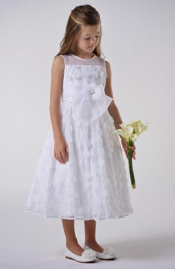 vestidos de primera comunion vaporosos