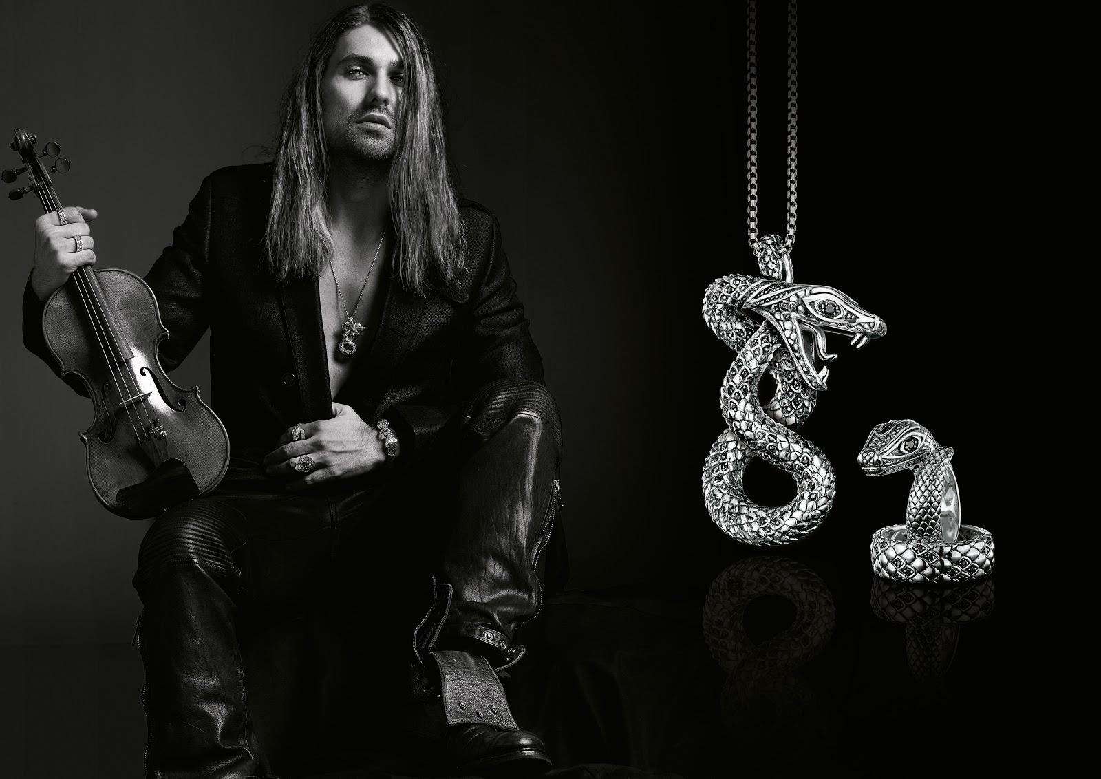 Rebel At Heart  Thomas Sabo Mens Jewellery Collection 2013