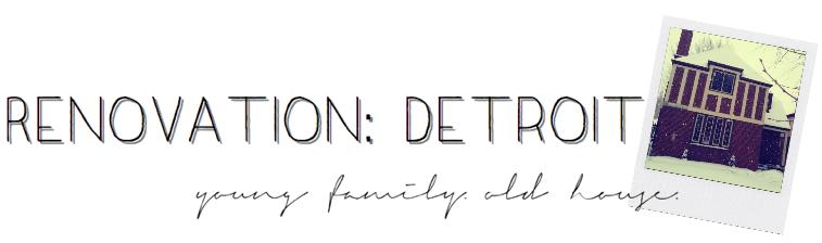 Renovation: Detroit