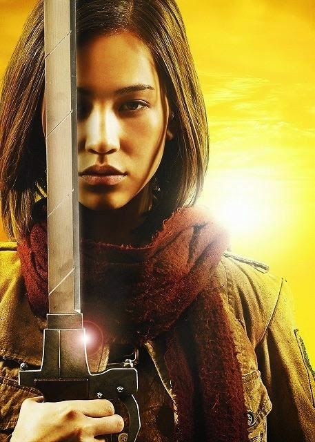 """Kiko Mizuhara es Mikasa en la película de imagen real de """"Ataque a los Titanes"""""""