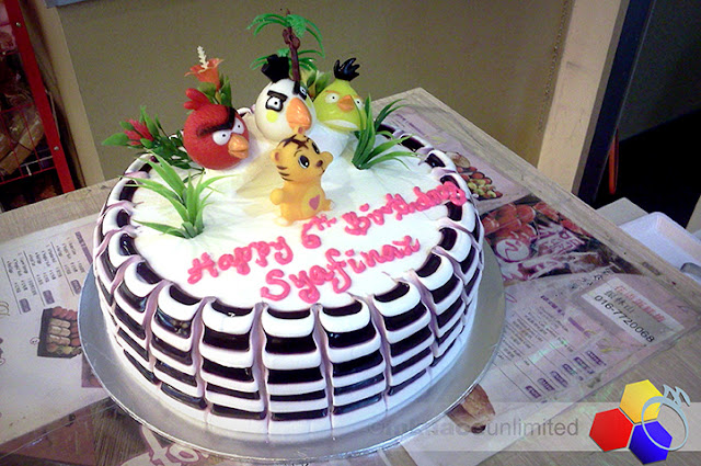 mknace unlimited™ | Birthday Cake Angry Bird Syafinaz