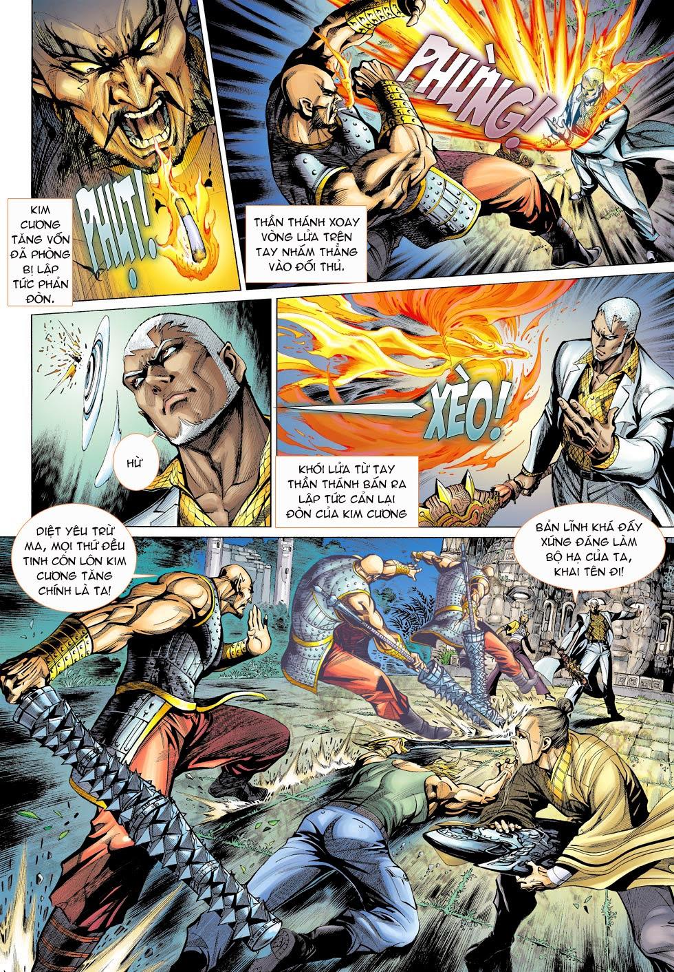 Thần Binh 4 chap 25 - Trang 10